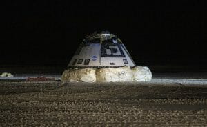 ISSへのドッキングを断念したスターライナー、ホワイトサンズに無事帰還