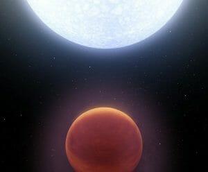 観測史上最も熱い系外惑星「KELT-9b」では水素分子もバラバラに解離