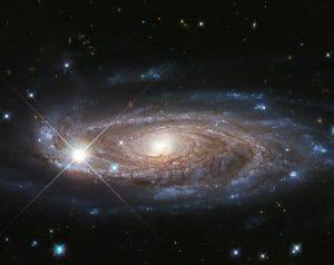 1兆個の星々が輝く巨大銀河、ハッブル宇宙望遠鏡が撮影