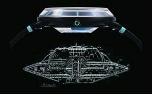 UFOをイメージした腕時計「Object 1」5色展開でクラファンに登場