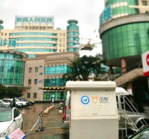 テラドローン、新型コロナウイルス被害の大きい中国浙江省で医療物資のドローン輸送を開始