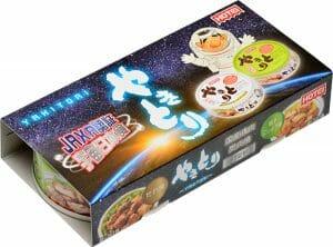 """ホテイフーズ、宇宙日本食記念""""やきとり缶2セット""""を宇宙パッケージで発売"""