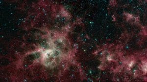 赤外線で探る。タランチュラ星雲に漂う臭い