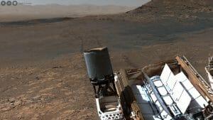火星のキュリオシティが撮影した18億ピクセルの高解像度パノラマ画像