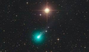 5月に注目。日没後の空に肉眼で彗星が見えるかも