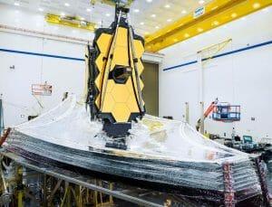 ジェイムズ・ウェッブ望遠鏡、コロナ影響で開発が一時停止