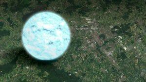 太陽1.4個分の中性子星の直径が22キロと算出される