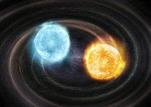 合体する運命にある白色矮星連星を発見。なんと公転周期は20分