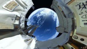 「宇宙仕様のTHETA」で撮影!全天球映像の第4弾が公開