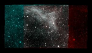 運用終了直前の「スピッツァー」が撮影したカリフォルニア星雲