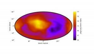 宇宙の膨張速度は時代だけでなく方向によっても異なる可能性