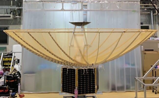 小型SAR衛星1号機「イザナギ」