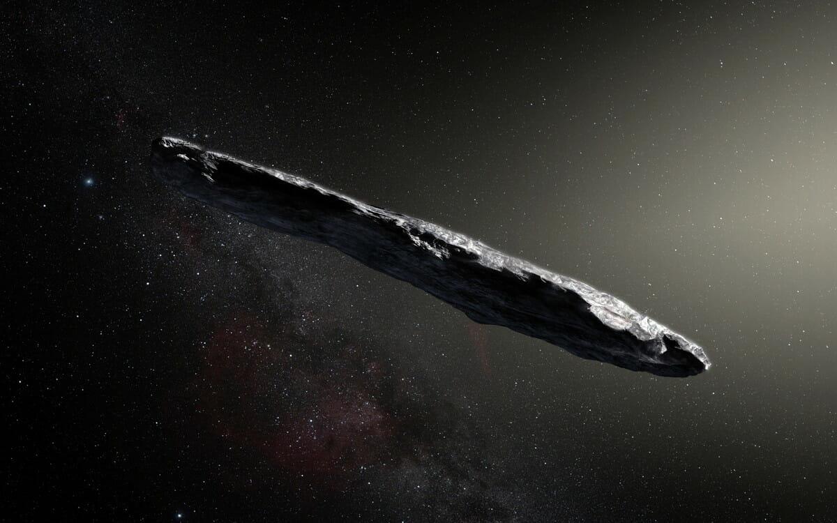 恒星間天体「オウムアムア('Oumuamua)」