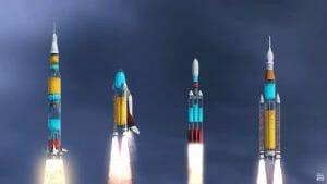 もしもロケットが透明だったら? 見入ってしまう打ち上げ再現動画が公開