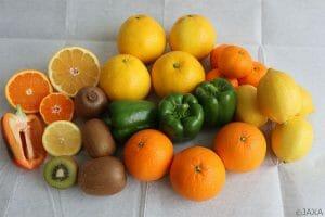 こうのとり9号機がISSに輸送した野菜や果物など生鮮食品