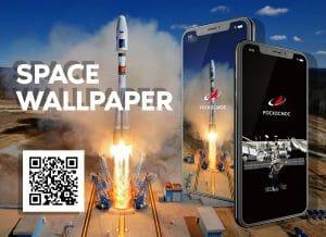 ロスコスモスがソユーズやISSのカッコいい宇宙壁紙を公開中