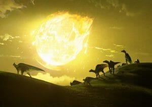 白亜紀末期の地球に落下した小惑星、最悪の角度で衝突していた?