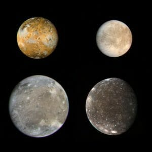 木星のガリレオ衛星はどう形成された? シミュレーションによる研究結果が発表