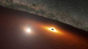 ブラックホールがもたらすフレアのタイミングを事前に予測し観測成功