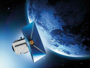 人工衛星が宇宙ゴミになるのを防ぐために展開する「帆」を開発中
