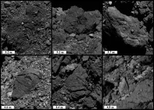 摂氏200度の昼夜の温度差。小惑星ベンヌ表面の亀裂や剥離を確認