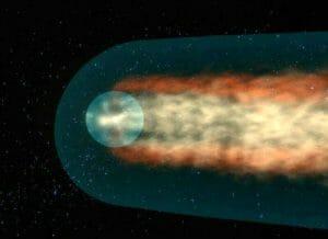 ボイジャーが離脱した太陽圏は球形ではなく、やはり彗星のような形か