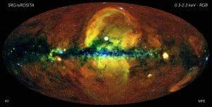 X線宇宙望遠鏡「Spektr-RG」によって取得されたX線全天マップが公開