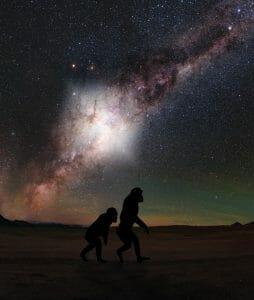 人類の先祖も目撃したかも。マゼラニックストリームを照らすほどの天の川銀河の爆発現象
