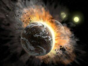 地球に似た惑星が巨大衝突を経験したら、大気はどれくらい失われるのか