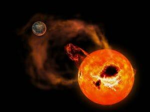 太陽フレア最強クラスの20倍。赤色矮星のスーパーフレアが検出される