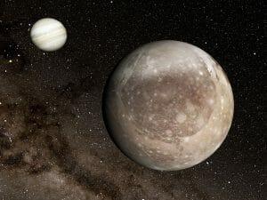 木星の衛星ガニメデに太陽系最大規模の巨大な衝突クレーターを発見か