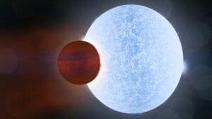 系外惑星KELT-9bでは9時間ごとに「夏」と「冬」が繰り返される