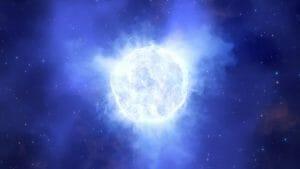 7500万光年先の矮小銀河で、巨大な恒星が姿を消してしまう