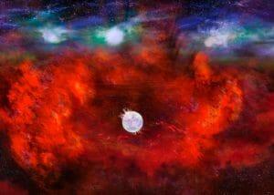 アルマ望遠鏡が検出した温かい塵、超新星1987Aが残した中性子星の存在を示す可能性