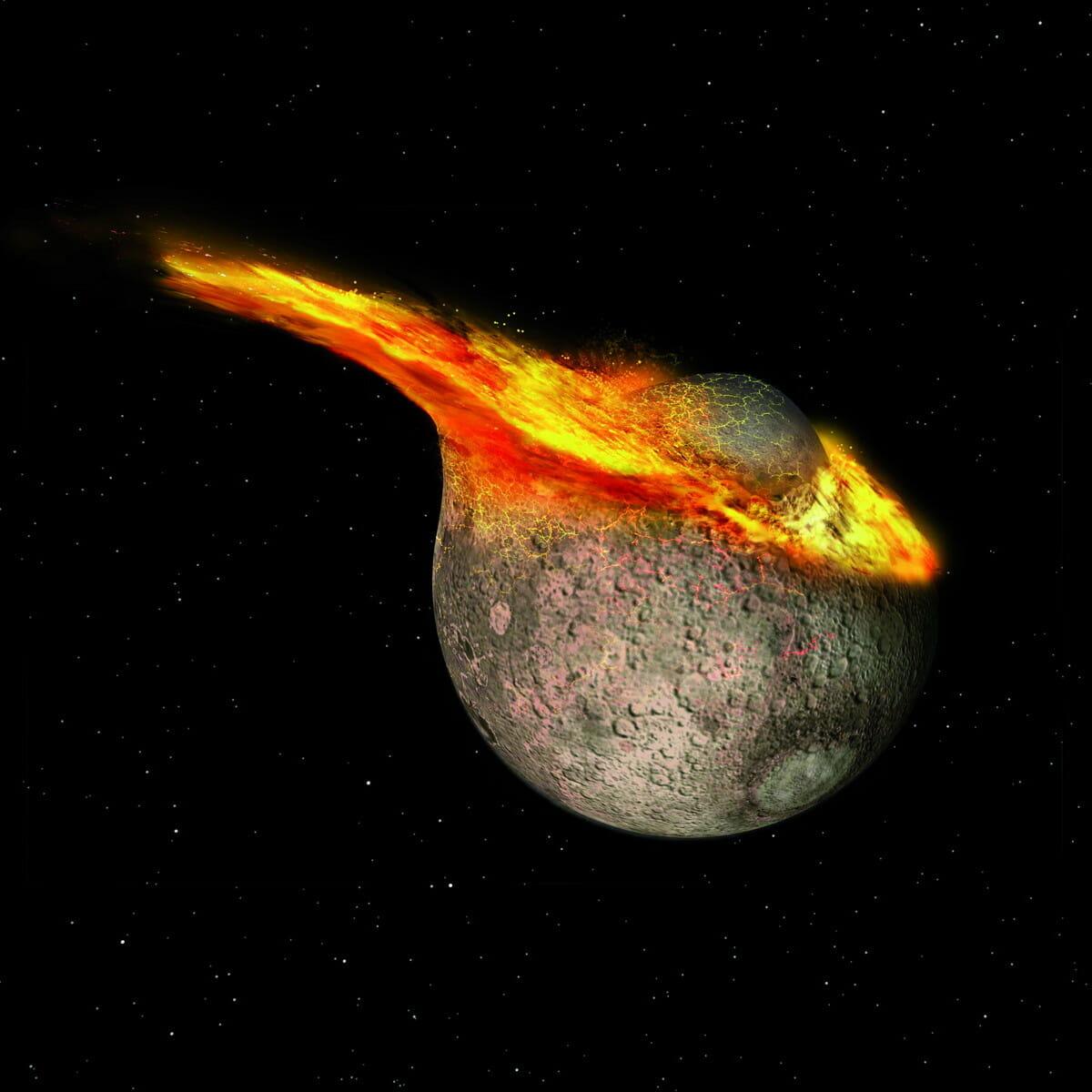 月を誕生させた巨大衝突