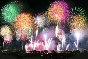 8月22日に「エール花火」が全国28都県66ヶ所で実施