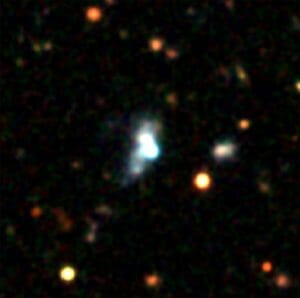 この宇宙で誕生する最後の世代の銀河か。比較的近い宇宙に形成初期の銀河を発見