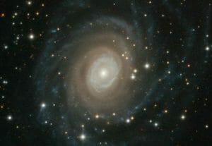 綺麗な渦を巻く銀河の画像、見つめると不思議な感覚に…