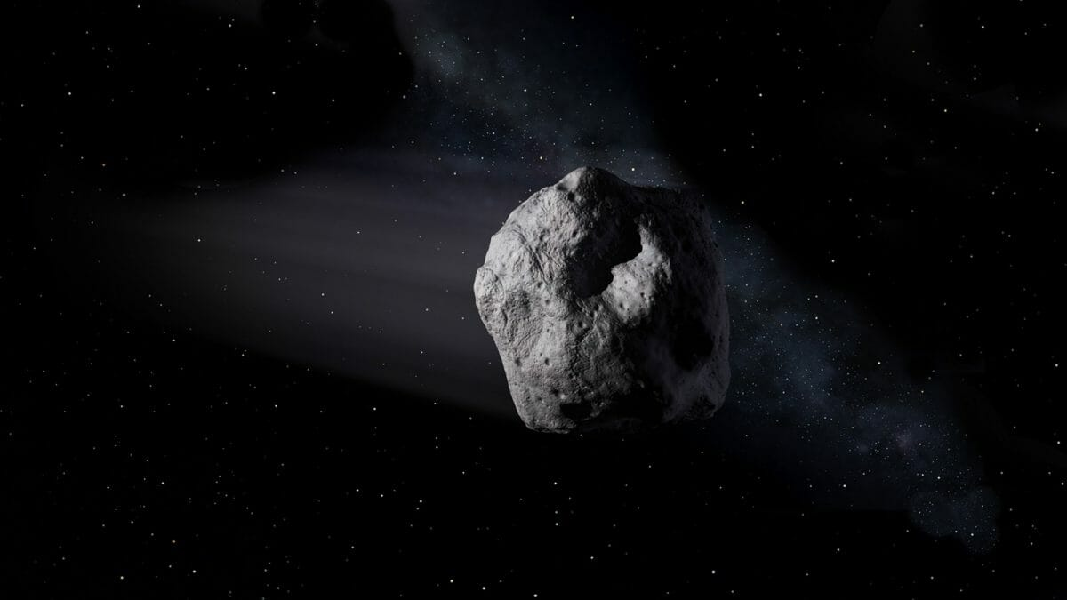 小惑星「2020 SW」