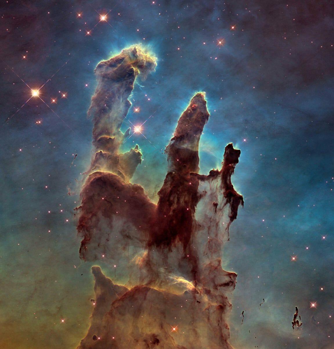 M16(わし星雲)内にある 「創造の柱」