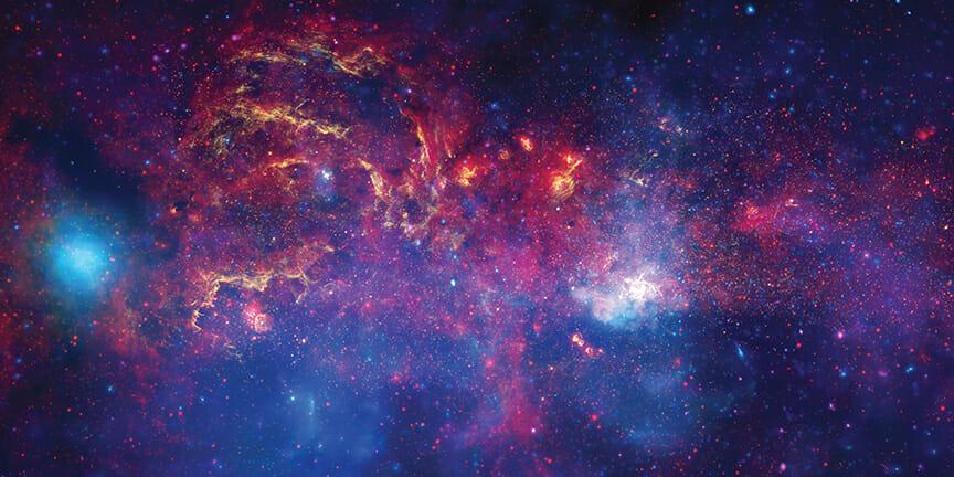 天の川銀河の中心方向