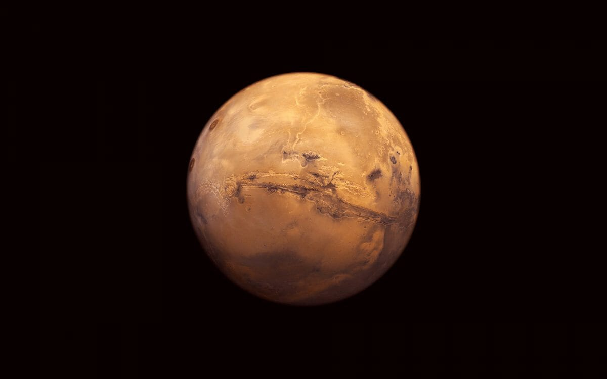 気温 火星