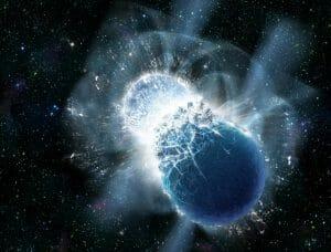 ハッブル宇宙望遠鏡が検出したガンマ線バーストの異常、原因は中性子星合体で誕生したマグネターか