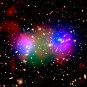摂氏4億度の超高温! 多波長観測で明らかになった銀河団の超高温ガスの分布