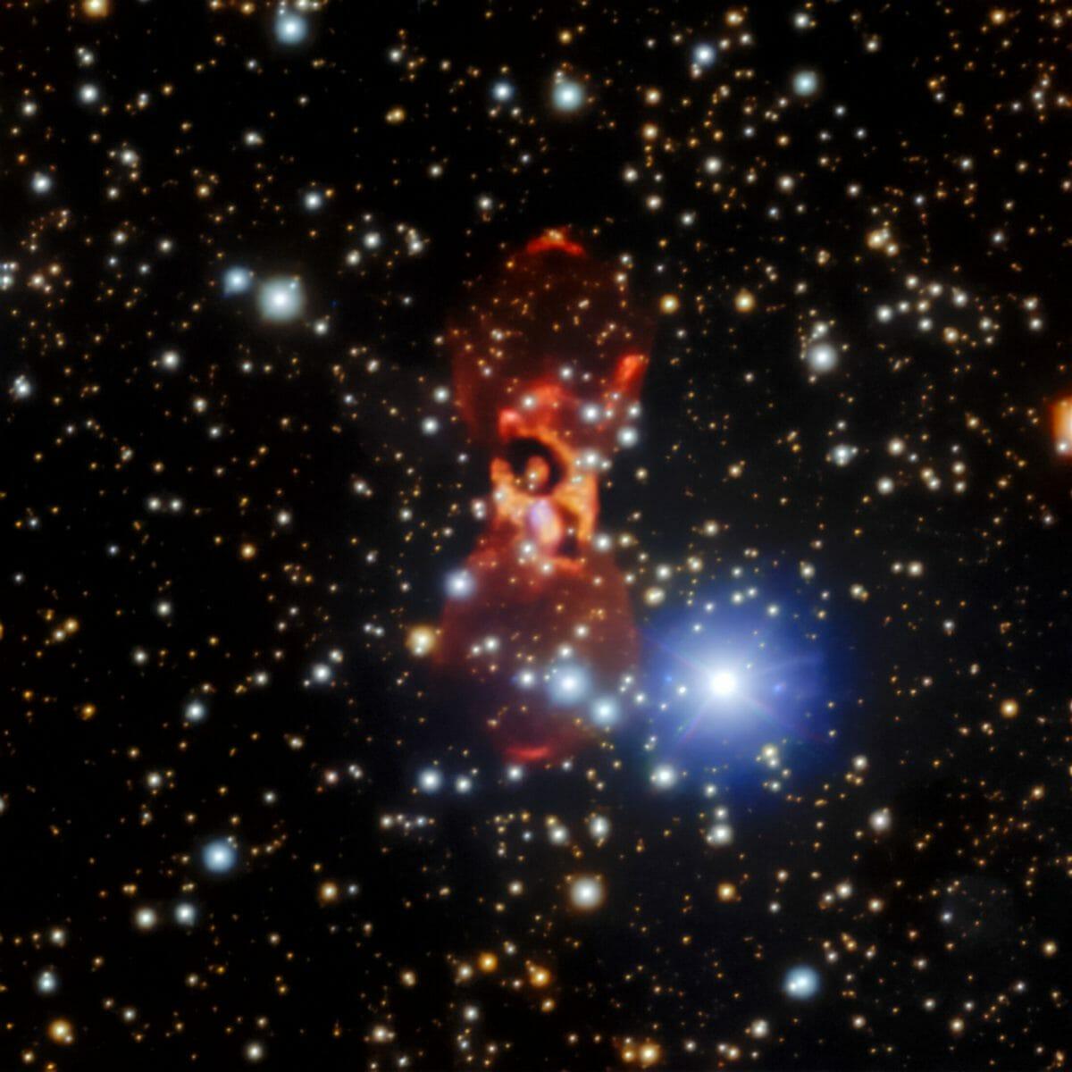 ジェミニ天文台の「ジェミニ北望遠鏡」が観測した「こぎつね座CK星」