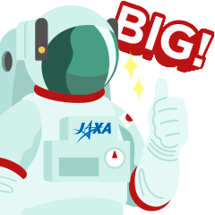 宇宙飛行士、ロケットなど宇宙やJAXAに関連するものをモチーフとした親しみやすいイラストもGOOD!