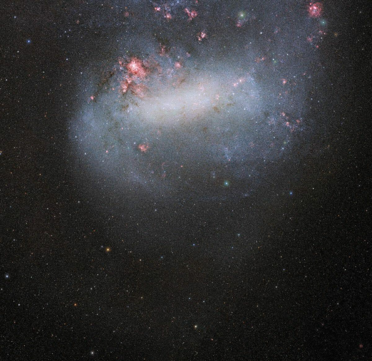 セロ・トロロ汎米天文台で撮影された「大マゼラン雲」