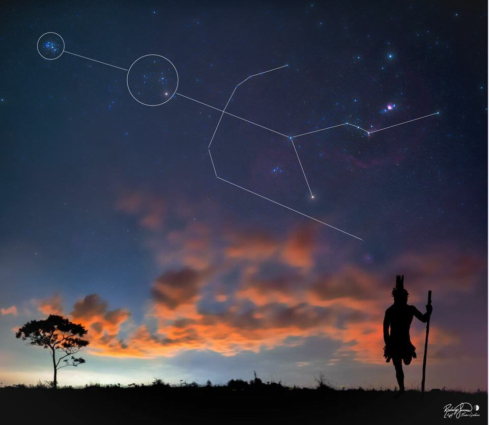 A Historic Brazilian Constellation(Credit: Rodrigo Guerra))