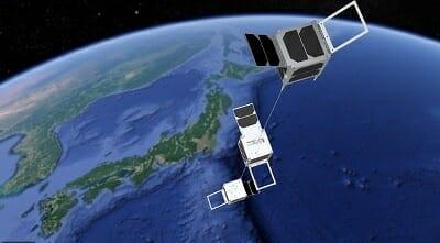 静岡大学の超小型衛星「STARS-EC」の想像図(Credit: 静岡大学)