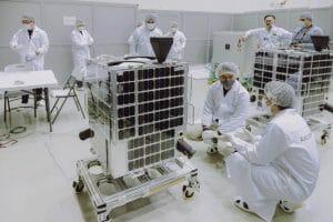 バイコヌール宇宙基地で打ち上げ準備が進む国内ベンチャーの人工衛星